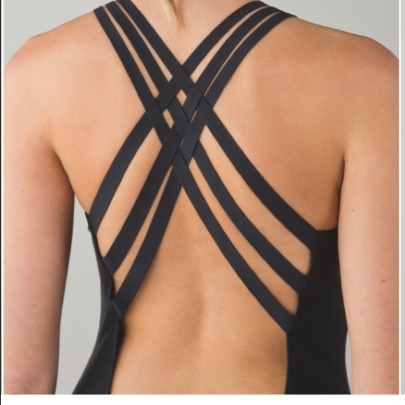 Lululemon Water: Strappy back one piece suit